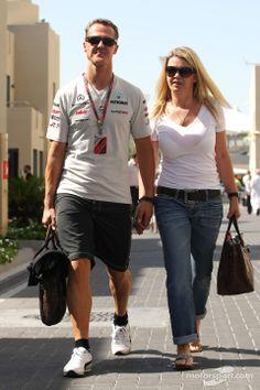 Michael Schumacher, Mercedes GP and his wife Corina   Main gallery   Photos   Motorsport.com