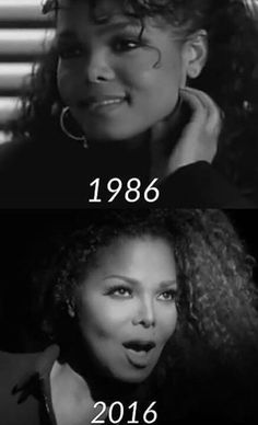 Janet's graceful aging. Amazing talent and beauty.
