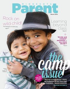 Our 2014 Camp issue featured not one, but two local Cover Stars: Raheem, 4, and Ronak, 1, brothers from Woodbury.