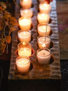 Set the mood for fall.