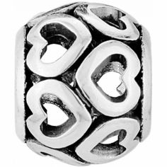 ABC Open Heart Bead available at #BrightonCollectibles