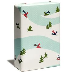Holiday Shop - Gift Wrap - Sledders Wrap - Snow & Graham: Letterpress Stationery, Invitations, Greeting Cards and Calendars