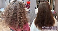 Simple hair, easy life! Japanese Hair Straightening, Best Hair Salon, Japanese Hairstyle, Perms, Easy Hairstyles, Kinky, Hair Color, Curly, Long Hair Styles