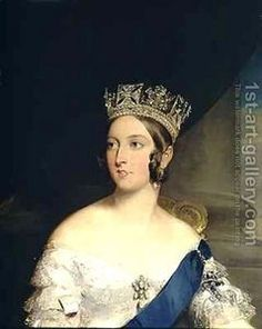 Queen Victoria- Mother of all Europe. Carrier of hemophilia. She bore 9 children, all of which married into different European kingdoms, making her the Mother of Europe as well as a spreader of the blood disease.. She was the longest reigning female monarch in history.