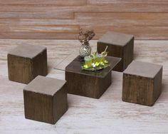 Miniature Table Set for Your Dollhouse by DinkyWorld on Etsy