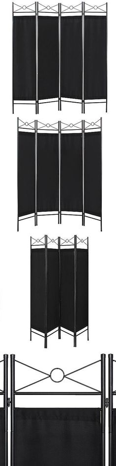 Screens and Room Dividers 31601: Best Choice Products Home Accents 4 Panel Room Divider-Black -> BUY IT NOW ONLY: $39.94 on eBay!