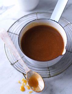 Quick salted caramel sauce