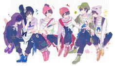 Read Osomatsu san fanart from the story [SƯU TẦM] Anime Art by Convalaria (Linh Lan) with 332 reads. Pixiv ID: 13833265 Anime Boys, Boboiboy Anime, Anime Kawaii, All Anime, Anime Art, Yandere Boy, Japanese Show, Osomatsu San Doujinshi, Anime Group