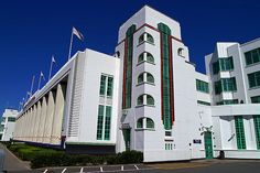 The Hoover Building - (1931-1935) by Wallis Gilbert and Partners, Western Avenue, London