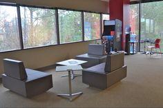 PMG - break room - break area - offices done by Facilitec