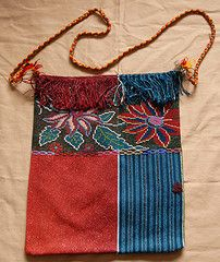 For centuries Chiapas women have woven and brocaded gowns for the images of their gods, who are now identified with the Virgin and Catholic Saints. These sacred textiles, stored in the saints' coffers, are still the source of their art and a symbol of their Maya identity.
