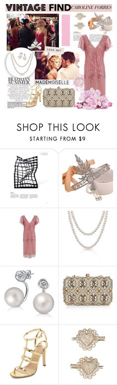 """Caroline Forbes-Vintage Find ♥"" by tvdsarahmichele ❤ liked on Polyvore featuring h.f. ullmann, Bling Jewelry, Accessorize, Charline De Luca, Monsoon, Rosanna and vintage"