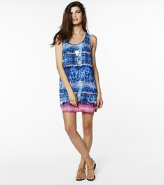 Slip into this gorgeous tie dye racerback dress this summer!