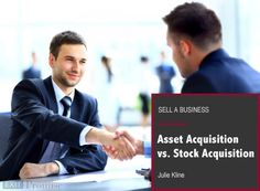 Asset Acquisition or Stock Purchase? Generally there are three categories of factors that drive the structure of a deal: (1) business issues, (2) assignments and consents, and (3) tax issues. | Exit Promise