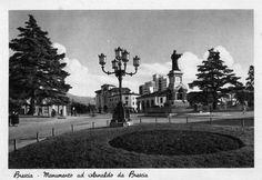 Monumento ad Arnaldo da Brescia http://www.bresciavintage.it/brescia-antica/cartoline/monumento-ad-arnaldo-brescia/