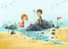 Rock Pools by Lucy Fleming Illustrations