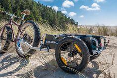 Burley Introduces a Fat Bike Wheel Kit for Cargo, Kid Carriers http://www.singletracks.com/blog/mtb-gear/burly-fat-bike-trailer/