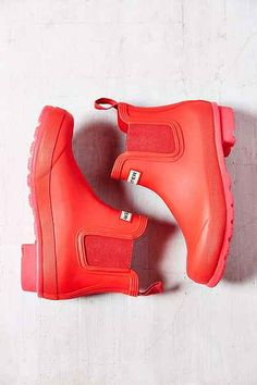 Hunter Original Neon Short Rain Boot