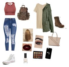"""""""Which one?"""" by llpixletheif on Polyvore featuring Converse, MANGO, Refresh, Kate Spade, Morphe and Diego Dalla Palma"""