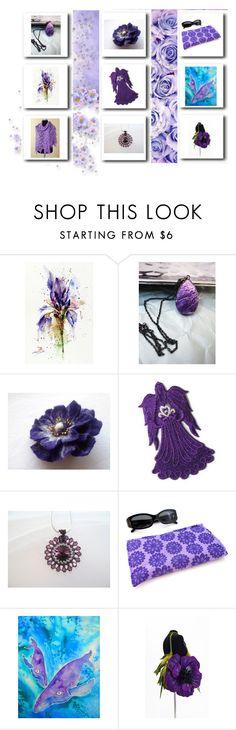 """""""Lovely Purples!!"""" by keepsakedesignbycmm ❤ liked on Polyvore"""
