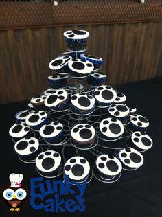 Cupcakes donados para los perros rescatados.