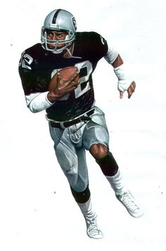 Oakland Raiders RB Marcus Allen by Retrodan16