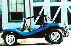 Little Blue Dune Buggy by Old Sarge, via Flickr