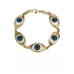Eyes Pendant Bracelet ($13) ❤ liked on Polyvore featuring jewelry, bracelets, accessories, fillers, blue pendant, adjustable bangle, chain pendants, blue bangles and chains jewelry