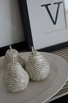 anthropologie inspired pear tutorial from on the V side