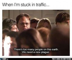 When I'm stuck in traffic... (Funny Car Pictures) - #earth #people #plague #traffic