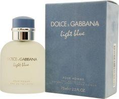 D  G Light Blue By Dolce  Gabbana For Men Eau De Toilette Spray, 4.2-Ounces