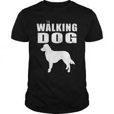 This is a great gift for Duck lovers  THE WALKING DOG Nova Scotia Duck Tolling Retriever Tee Shirts T-Shirts
