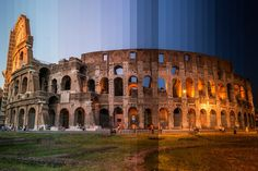 Captivating Photographs Show Famous Landmarks Transitioning From Day To Night