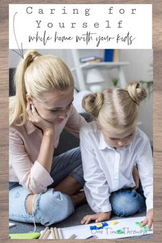 Find strategies and ideas for keeping the kids busy and learning, and yourself mentally balanced, while at home. Kid Check, One Time, Parenting 101, Business For Kids, Educational Activities, Learning, Blog, Ideas, Teaching Materials