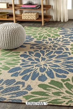 Add some graphic punch to your porch or patio with the bold blooms on our modern floral rug. The large-scale pattern has a geometric effect in a simple palette of sage green, brown and beige. The flatweave design is great for high-traffic spaces indoors too.Item Specification Farmhouse Style Rugs, Brown Flowers, Home Rugs, Contemporary Rugs, Zinnias, Floral Rug, Coastal Style, Home Decor Trends, Outdoor Rugs