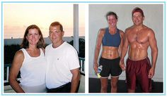 Before and after CrossFit!  This stuff works!