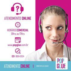 Se prepare que hoje vou lhe usar! Das 8:00 am às 17:00 pm somos todos seus! ;) #Pergunte #Duvidas   www.popglue.com.br  #Whatsapp #SejaPop #PopGlue #AtendimentoOnline #TodoBrasil #Atendimento #Decor #Site #Ecommerce #AdesivosDecorativos