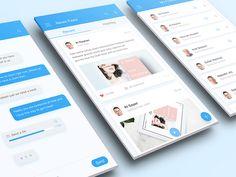 Becon | Clean app design