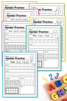 Are you looking for some fun and engaging Number Sense Practice for your students? This packet is perfect for early finishers, morning work, homework and more. It includes 20 worksheets that will help your students practice numbers 1 to INCLUDED: Number Recognition Activities, Number Sense Activities, 1st Grade Activities, Classroom Activities, Easter Activities, Preschool Worksheets, Numbers Kindergarten, Kindergarten Lessons, Fun Learning