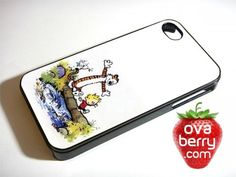 Calvin and Hobbes Comic iPhone and Samsung Galaxy Phone Case