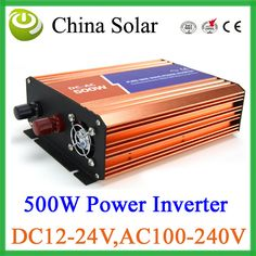 CE&ROSH approved 500W High Quality Pure Sine Wave Power Inverter Solar