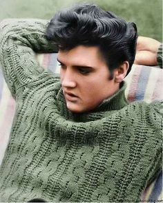 Elvis hair is such an inspiration.. lol perfect hair!
