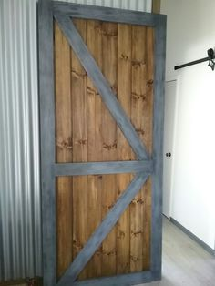 New large door made for customer