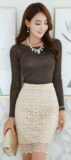 кружевная юбка, белая юбка из кружева