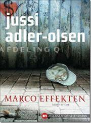 Femte bind i serien om Afdeling Q.  Marco Effekten af Jussi Adler-Olsen, ISBN 9788740009897
