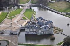 Photo aérienne de Château de Chantilly - Oise (60)