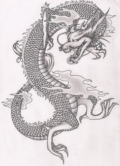 Chinese Dragon by terminatress.deviantart.com on @deviantART