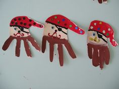 Sea Crafts, Cute Crafts, Paper Crafts, Pirate Halloween, Pirate Day, Preschool Pirate Theme, Preschool Activities, Painting For Kids, Art For Kids