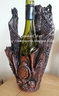 Wine bottle Holder Powertex