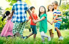 Our Favourite Outside Games for Children